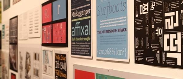 Goethe Institute hosts international typography exhibition