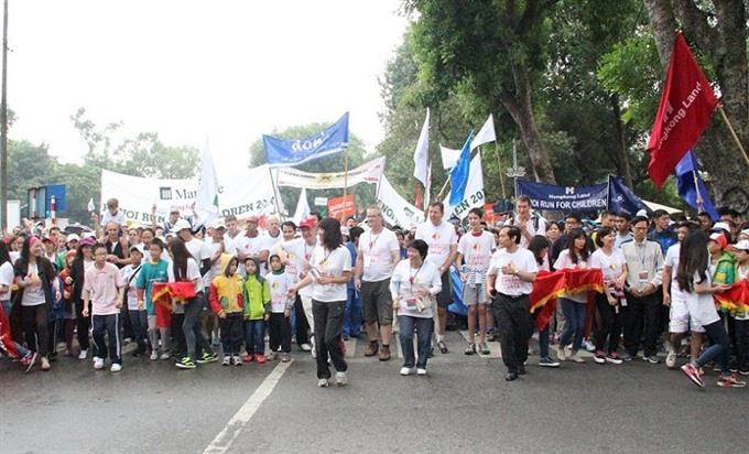Hà Nội Run for Children set for December 11