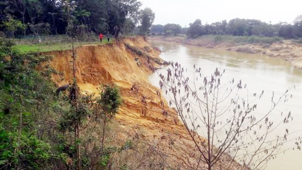 Erosion hurts agriculture livelihoods in Hà Tĩnh