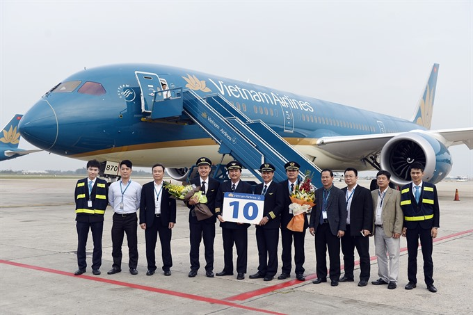 VN Airlines gets 10th Boeing 787