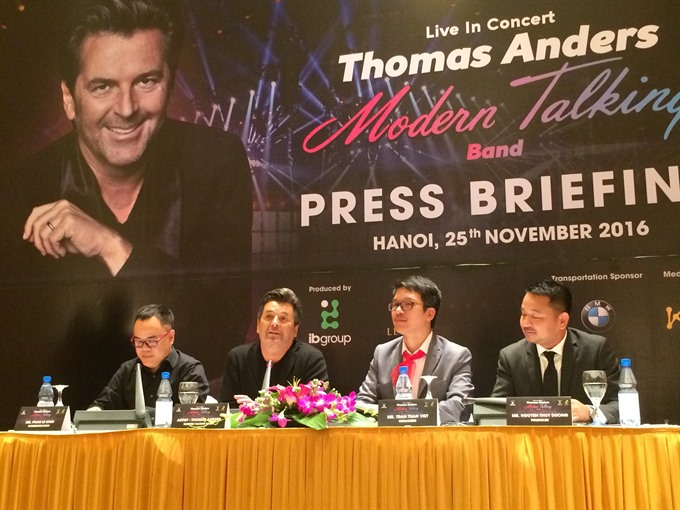 Thomas Anders set for VN debut