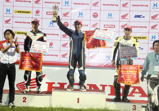 National motor racing champs closes in Đồng Tháp