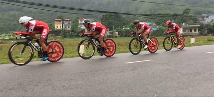 HCM City Bình Dương win time trial titles