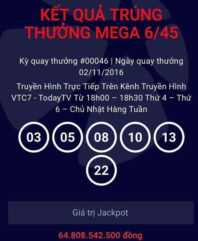 Vietlott confirms winner of 3m jackpot