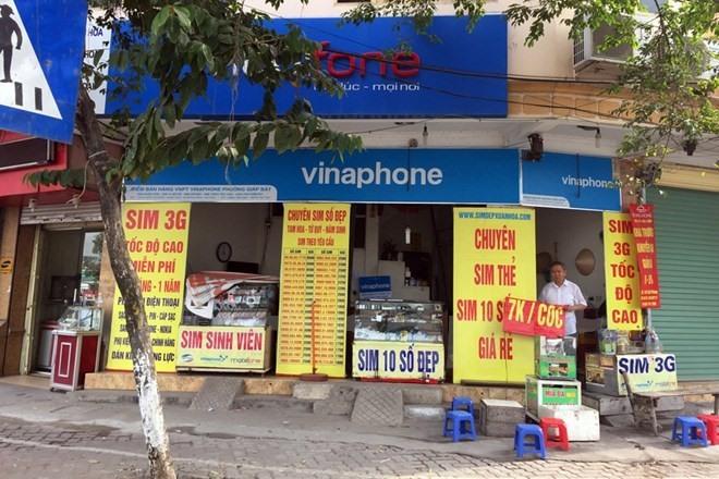 Hà Nội set to inspect SIM card retailers