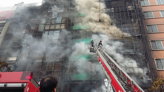 Hà Nội to crack down on fire hazards