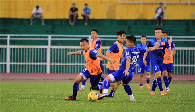 VN coach wants to see his players jell