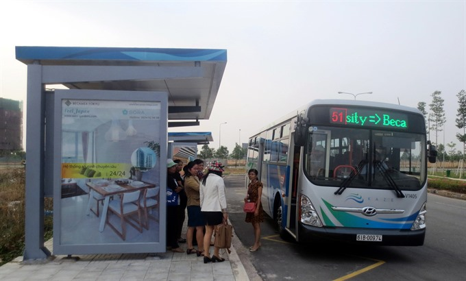 Clean bus route
