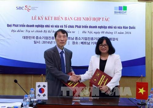 Vietnamese South Korean funds cooperate for SME development