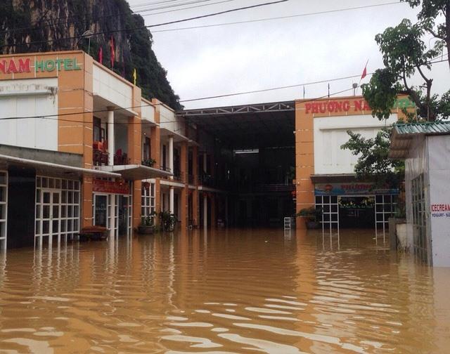 Hà Tĩnh Quảng Bình hit by third flood