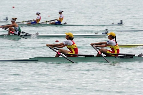 Việt Nam triumph at Southeast Asian Rowing Championships