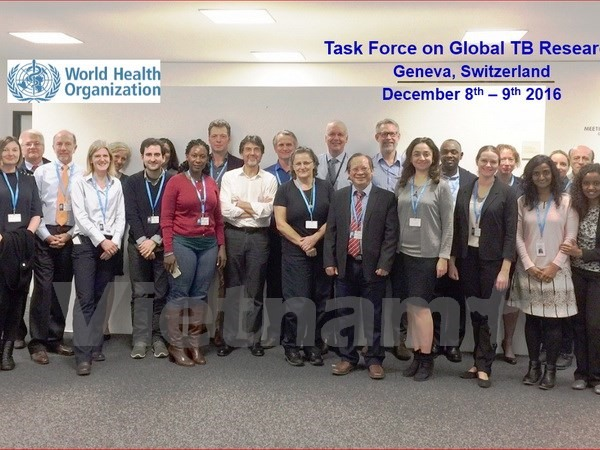 VN expert joins first global tuberculosis task force