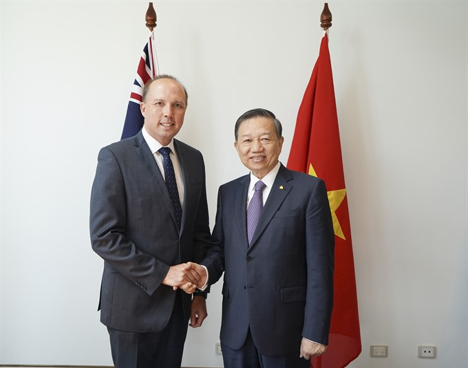 VN Australia sign agreement to stop illegal immigration