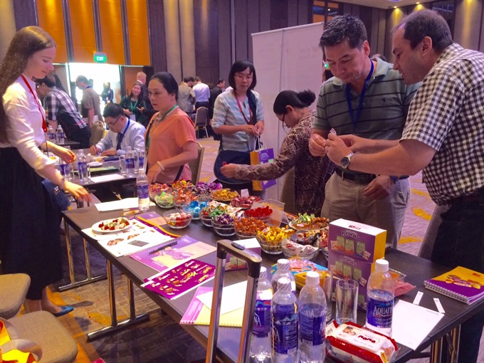 Russian firms showcase products