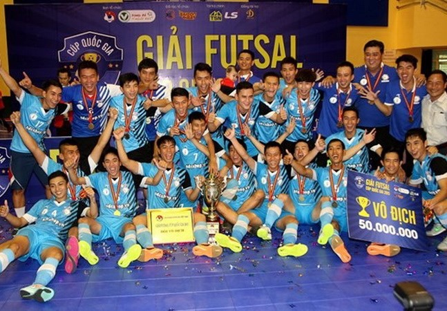 Futsal Cup lures nine participants from HCM City