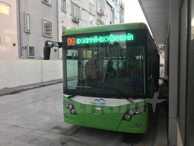 Vehicles restricted as BRT route starts operation