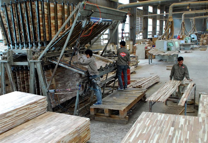 VN wood processing faces materials shortage