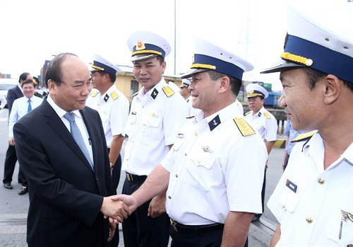 PM urges Sài Gòn New Port to enhance economic defence mission
