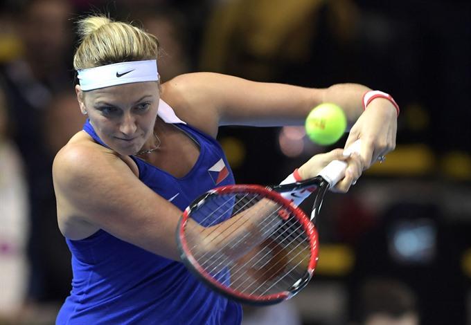 Kvitova out indefinitely after burglar attack