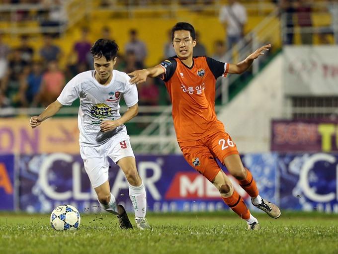 Việt Nam Hoàng Anh Gia Lai in U-21 semis