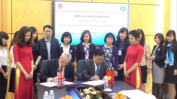 Vietnamese universities to offer ICAEW course