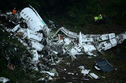 Colombia confirms crashed plane was out of fuel
