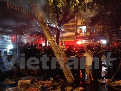 Fire risk looms over HNs old residential areas