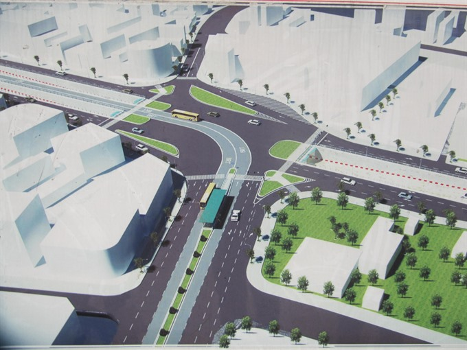 Central city breaks ground for road tunnel