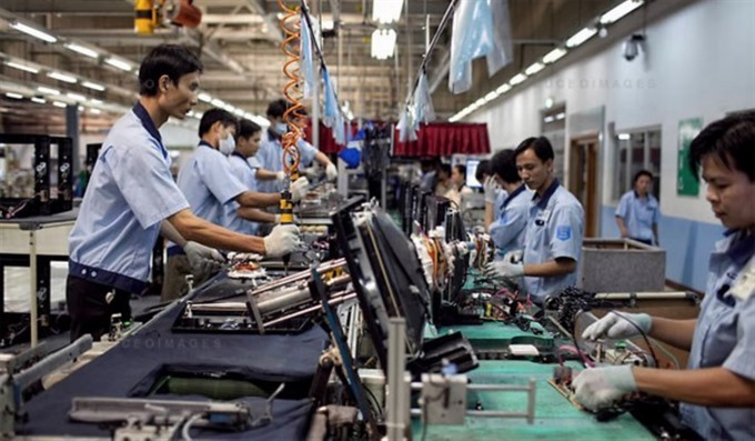 VN industrial production slows down in 2016