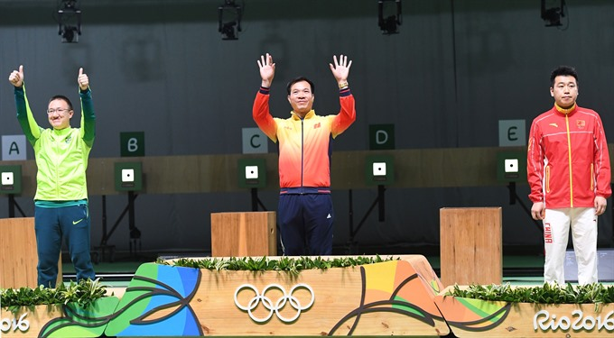 Vinh voted best athlete of 2016