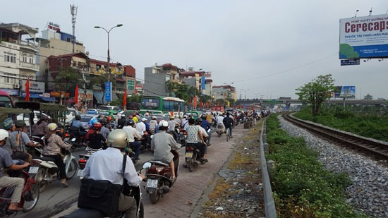 City police fight traffic congestion