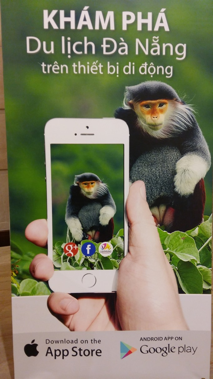 Tourism information app launched in Đà Nẵng