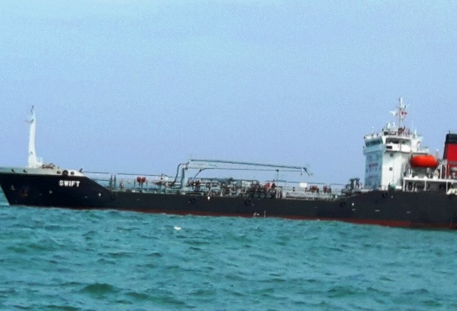 Ship detained for illegally transporting petrol