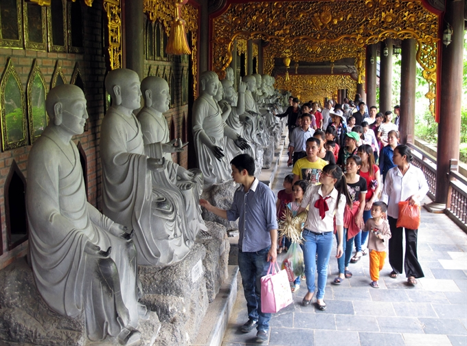 Spiritual tourism showcases ancient beliefs sites