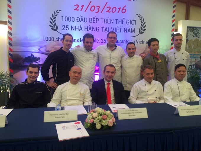Acclaimed chefs around the globe gather to celebrate French cuisine