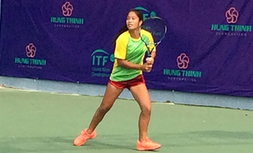 Lian Trần eliminated from ITF Asia U14 tournament