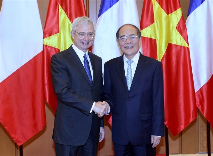 VN and French legislatures agree to increased liaisons