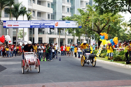 City hosts fundraising cycle competition
