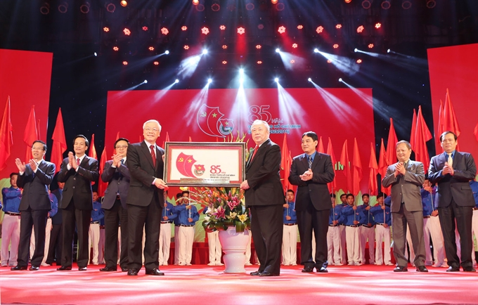 Ceremony in Hà Nội celebrates 85th anniversary of youth union