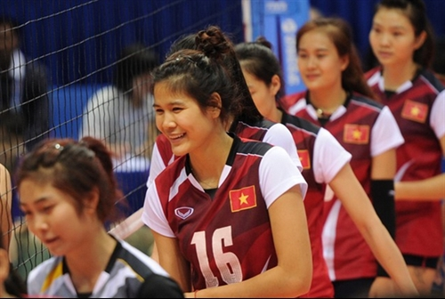 Việt Nam in group A for Asian volleyball event