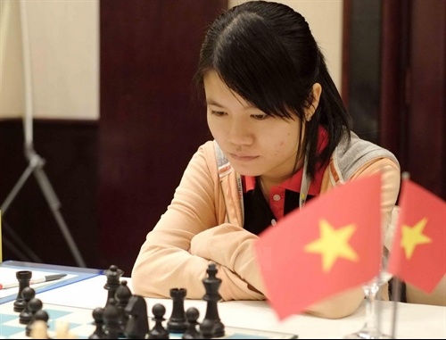 VN womens team beat Iran to lead Asian Chess Cup