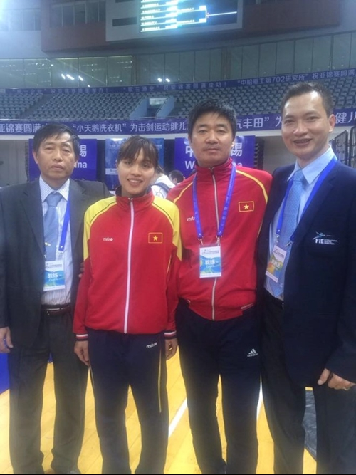 VN fencers grab Olympic tickets