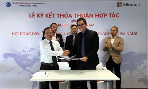 Microsoft to support Đà Nẵng on start-up programme
