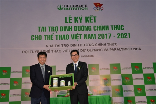 Herbalife to provide nutrition support to VN athletes