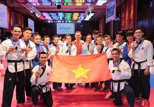 Taekwondo athletes bring home gold bronze