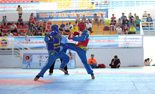 Vovinam tournament underway