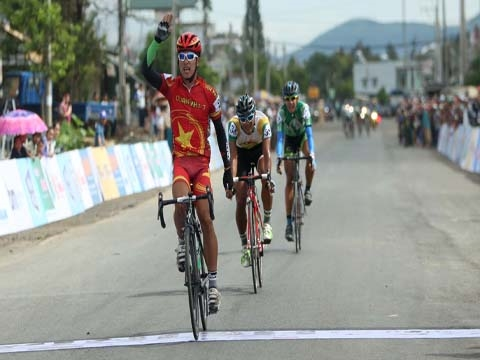 Nhân wins 15th stage in HCM City cup