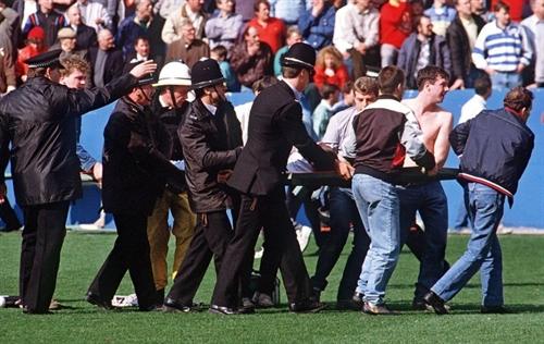 Fans unlawfully killed in Hillsborough football disaster