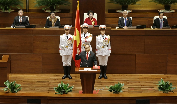 National Assembly elects Nguyễn Xuân Phúc as new Prime Minister