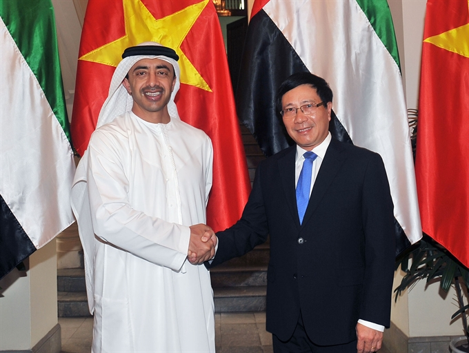 VN UAE aim to raise bilateral trade to 10b